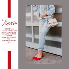 Roll up flats, great for Travel/Work/or Everyday! Shop your pair now Foldable Flats, Slide Images, Capri Pants, Pairs, Joy, How To Wear, Travel, Shopping, Fashion