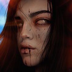 portrait, Julia Razumova on ArtStation at https://www.artstation.com/artwork/BJZ9l?utm_campaign=digest