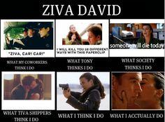 how Ziva David is seen......love ncis!