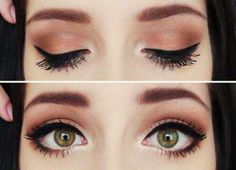 Baby date night makeup ideas guys love a fan brush is an easy way to concentrate your mascara on the root of your
