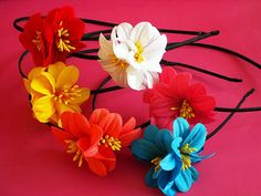 Summer Flowers Alice Band £95