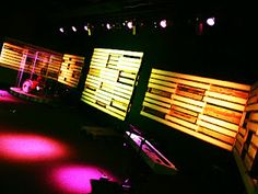 Todd Bougher: Pallet Stage Design
