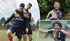 Picture Special: Arsenal relax in training prior to Premier League clash with Aston Villa   via Arsenal FC - Latest news gossip and videos http://ift.tt/1rLTvDf  Arsenal FC - Latest news gossip and videos IFTTT