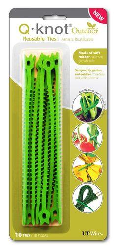Amazon.com: UT Wire Q Knot Outdoor Garden Reusable Tie, Green, green: Home Improvement