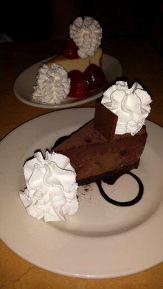 Chocolate Godiva cheesecake