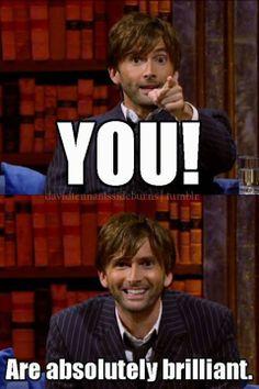 The Doctor has spoken