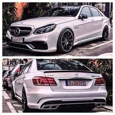 E class. Mercedes benz. The best. 2013. Amg 6.3.white