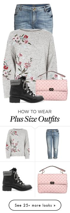 """""""Untitled #23760"""" by nanette-253 on Polyvore featuring KUT from the Kloth, Valentino and Sam Edelman"""