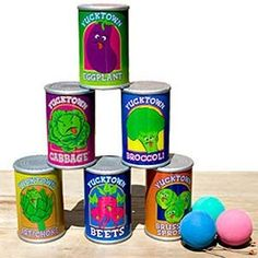 CAN TOSS GAME GAMES KIDS PARTY GAMES CARNIVAL CIRCUS BIRTHDAY PARTY THEME