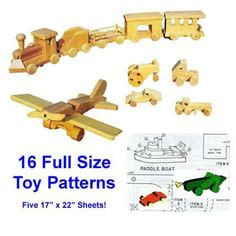 Wooden Toy Plans: