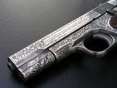 1911 @Jess Pearl Pearl Pearl Pearl Pearl von Brandt likes guns. i like vintage.