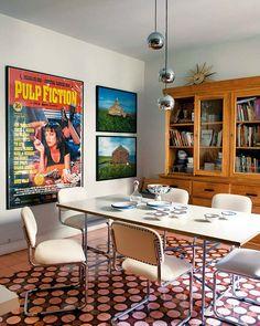Un piso vintage en Madrid para vivir y trabajar