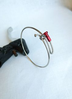 Bicycle Spoke Bracelet , Bikes , Bicycle Accessories , Bicycle Jewelry , Sports , Recycled Jewelry on Etsy, $18.00