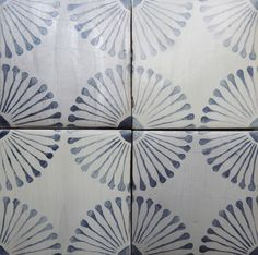 RUE DES ROSIERS 15 By Tabarka Studio available at World Mosaic Tile in Vancouver.- but in 'charcoal' on 'off white' Tabarka Tile, Mosaic Tiles, Ceramic Tile Backsplash, Painting Ceramic Tiles, Painted Tiles, Handmade Tiles, Shower Floor, Reno, Stone Tiles