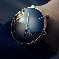 Special hand-picked choice of lavish Swiss men's designer watches. Modern Watches, Elegant Watches, Stylish Watches, Luxury Watches For Men, Vintage Watches, Amazing Watches, Beautiful Watches, Cool Watches, Men's Watches