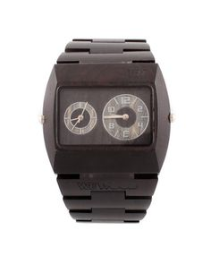 Watch made of sustainable wood sources. You buy a watch, they plant a tree.