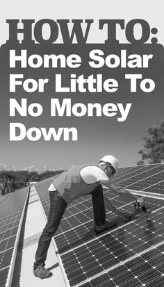 A little-known government program called the Residential Renewable Energy Tax Credit helps put solar on your home. Learn how to reduce your utility payments by hundreds of dollars per year before the tax credit expires!