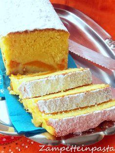 Plumcake soffice con albicocche http://zampetteinpasta.blogspot.it/2016/07/plumcake-soffice-con-albicocche.html