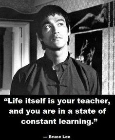 - Bruce Lee -