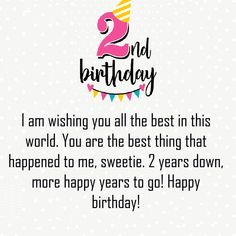 Happy Second Birthday Wishes Image Happy Birthday Wishes Boy, Friendship Birthday Wishes, Birthday Messages For Son, Wishes For Baby Boy, Birthday Wishes For Mother, Happy Birthday Quotes For Friends, Birthday Wishes For Boyfriend, Happy 2nd Birthday, Birthday Quotes For Daughter