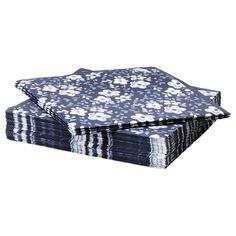 ENFALDIG Paper napkin - IKEA, $1.99 -- lovely for informal dining
