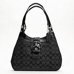 Soho Signature Hobo Purse Bag F17094