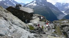 Refuge on the Tour du Mont Blanc hike  www.hikebiketravel.com