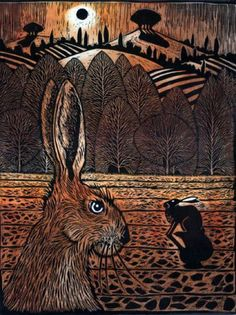 Two Hares, by Ian MacCulloch