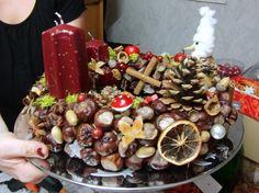 Weihnachtsgestecke und -Kränze  http://eris-kreativwerkstatt.blogspot.de/2014/11/weihnachtsgestecke-und-kranze.html