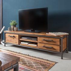 TV-Lowboard Atelier I - Akazie teilmassiv | Home24