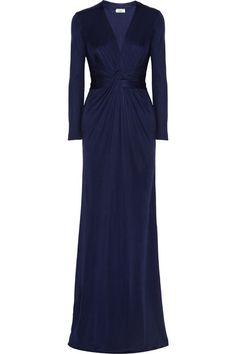 Midnight Blue bridesmaids dress