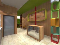 Soothing Spot Spa Interior Design. Reception Area