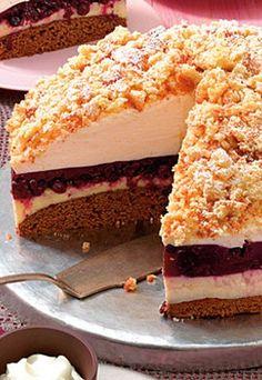 Heidelbeer-Eierlikör-Torte