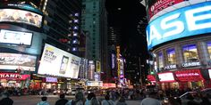 NYC Times Square October