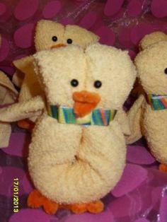 figuras con toallas de mano - Google Search