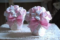 centrotavola battesimo marshmallow - Cerca con Google