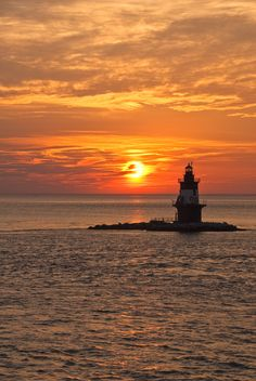 Orient Point Sunset, Long Island, New York