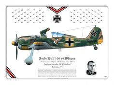 Hubertus von Bonin Fw 190 ace of JG 54 Luftwaffe, Air Fighter, Fighter Pilot, Ww2 Aircraft, Military Aircraft, Focke Wulf 190, War Thunder, Ww2 History, Airplane Art