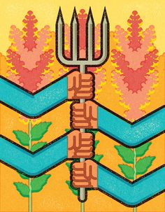 Building Bridges With Brazil. Client: Bridges Alumni Magazine. Alexei Vella illustration portfolio - The artists of Salzman International | Illustration Agency © Alexei Vella. #editorial #advertising #conceptual #illustration salzmanart.com