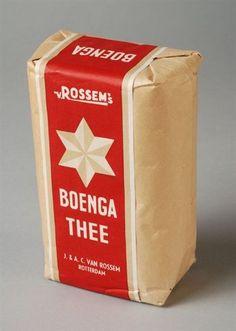 Pak thee van Van Rossem, 250 gram Boenga Thee Vintage Packaging, Van, Google Search, Poster, Accessories, Tela, Carton Box, Ironic Quotes, Crates