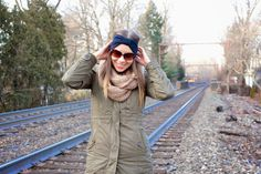 Style inspiration from New York. Winter style with SUPERYELLOW from Katz and the City blog.