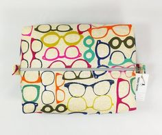 Back in Stock!  Glasses Toiletry Bag http://ift.tt/1LMhqo9  #cosmeticpouch #toiletrybag #doppbag #fabric #etsy #etsyshop #fireboltcreations #traveler #vacation #travel #etsyseller #sunglasses  #shoplocal #christmas #glasses #nerdy #optometry #optometrist #gift #giftideas #gifts #handmade #colorful #zipperbag #zipperpouch #design #monday #shopping #handcrafted