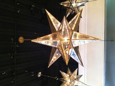 Sometimes bigger is better. The brand new XL Moravian Star lantern by @Visual Comfort  makes the case well @Style_spotter #hpmkt