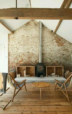 Love this. Theme needs to be brick/concrete with white and timber.