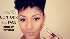 How To: Contour Your Face Makeup Tutorial by Carmen of My Natural Sistas   Read on to see my face contour and highlight makeup technique...    #Carmen #Contour #Highlight #Makeup #MakeupTutorial #MyNaturalSistas   http://www.mynaturalsistas.com/pretty-sistas/makeup/how-to-contour-your-face-make-up-tutorial/