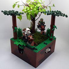 LEGO Star Wars flower pots