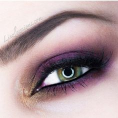 Cranberry Fever! by Lindsay L. Click the pic to see the products she used. #eyemakeup  #bestofbeauty #staffpicks