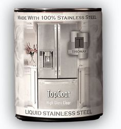 Stainless Steel paint: Thomas� Liquid Stainless Steel - Products