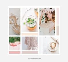 Lily Inspiration Board by Seaside Creative