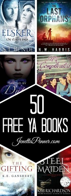 Young Adult Books are my favorite! and here are 50 FREE titles.  I am so excited to get reading.